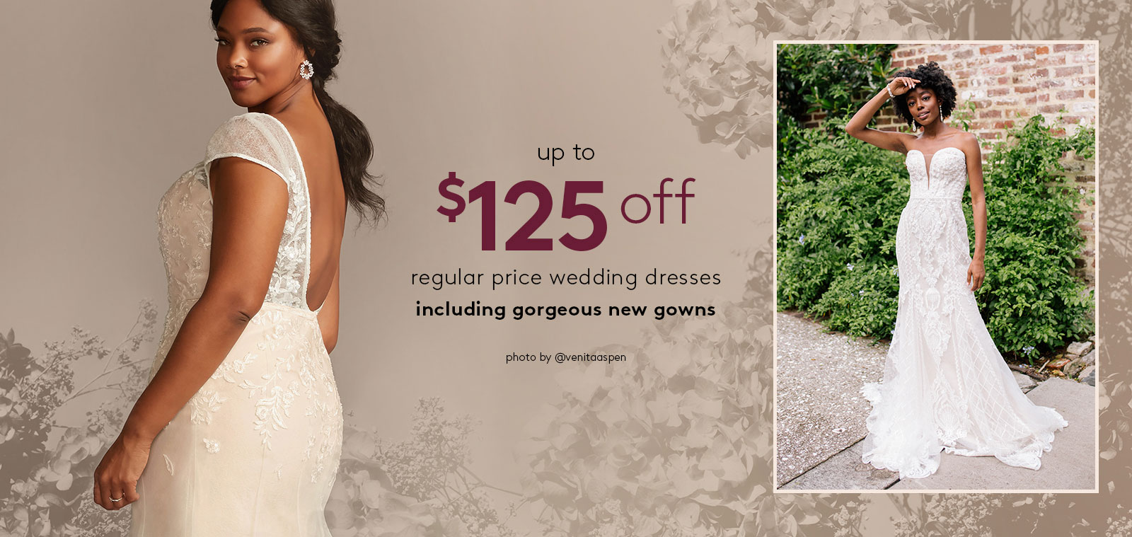 fourth of july sale - up to $125 off regular price wedding dresses - including gorgeous new gowns