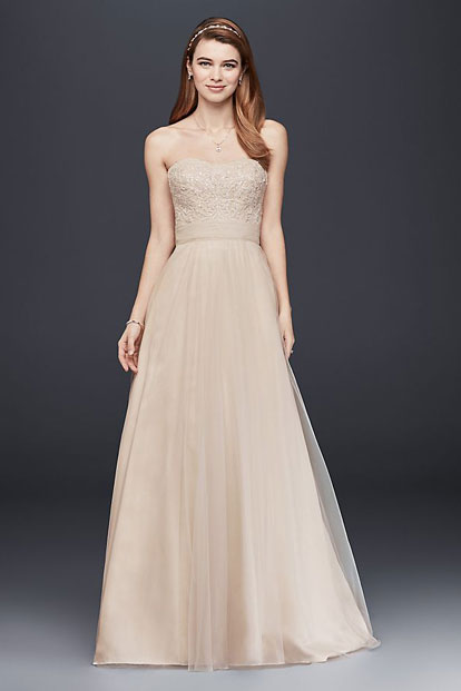 Wedding Dresses Bridesmaid Dresses Gowns David S Bridal