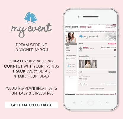 Start Planning Your Wedding Today with the My Event Wedding Planning Tool