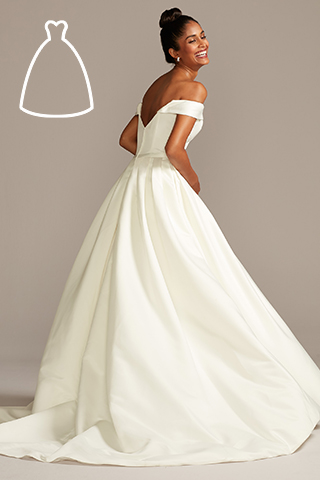 Silhouette Guide Wedding Dress Styles Shapes David S Bridal,Xhosa Inspired Xhosa Traditional Wedding Dresses For Bridesmaids