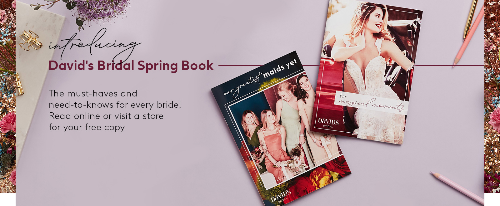 Introducing Bridal Spring Book