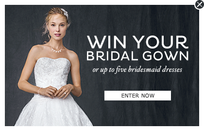 Win Your Bridal Gown or Up to Five Bridesmaids Dresses