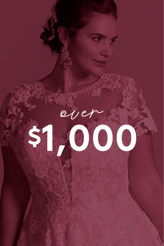 Wedding Dresses Over $1,000