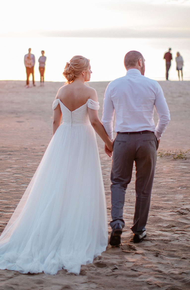Romantic Beach Wedding Dress | David's Bridal