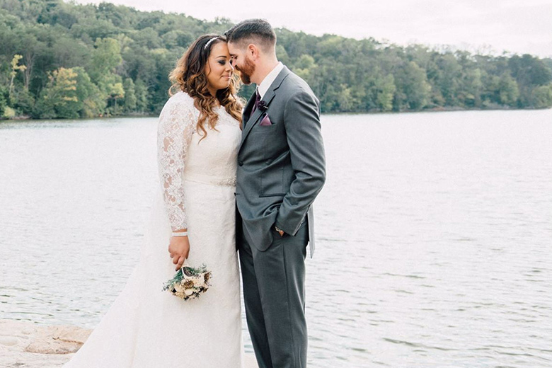 Real Outdoor Wedding in Tennessee | David's Bridal