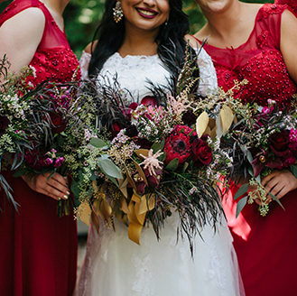 Red Bridal Party | David's Bridal