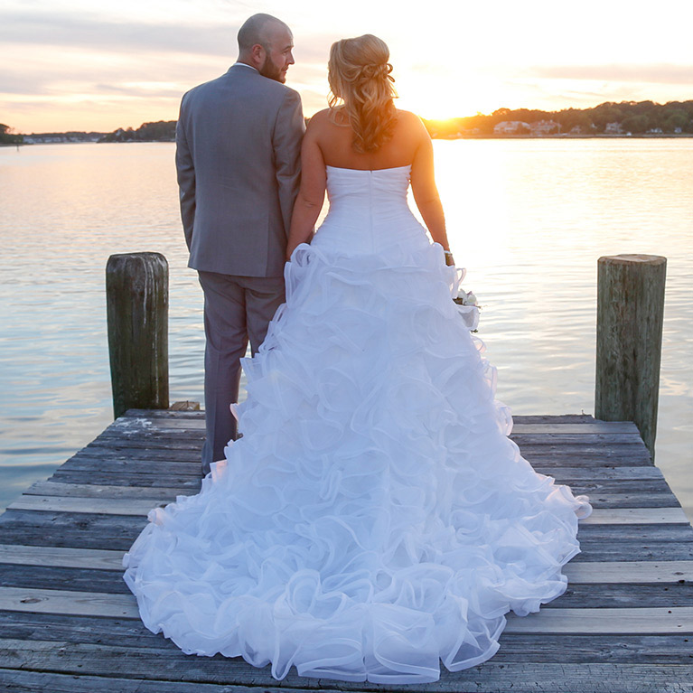 Summer Beach Wedding In New Jersey
