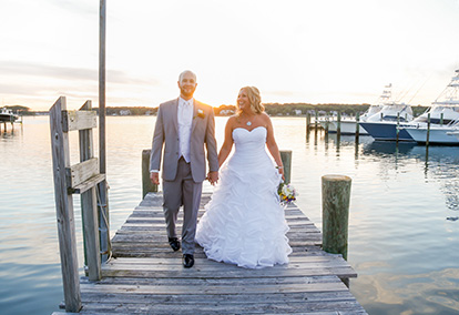 Romantic Waterfront Wedding in New Jersey