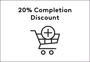 20% Completion Discount