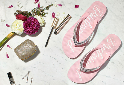 Flip flops, makeup, flowers and more to complete your wedding day