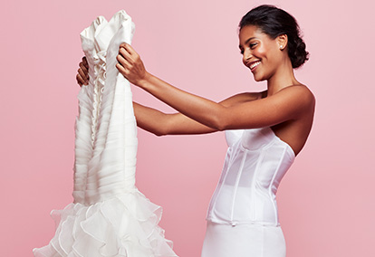 Slips & Shapewear to create foundation for your wedding dress.