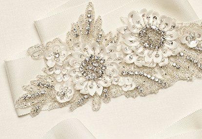 Sash and Belt for your wedding gown.