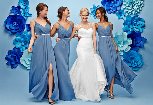 Bridesmaid Dress Palette Options