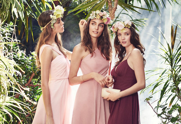 Color Ideas for Bridesmaids by David's Bridal