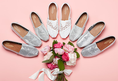 Unconventional Bridal Shoes