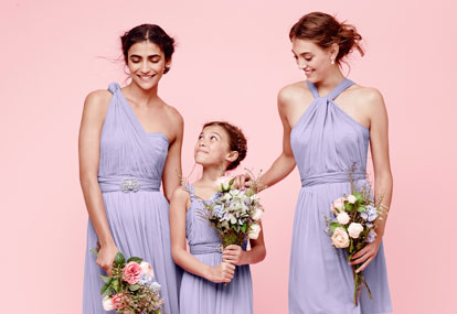 David's Bridal Versa Convertible Bridesmaid Dresses
