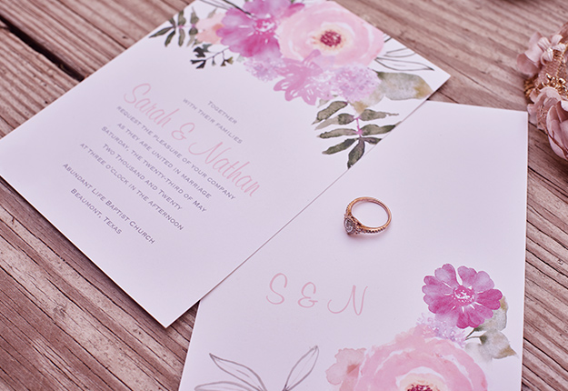 guide to wedding invitations & save the dates | david's bridal,