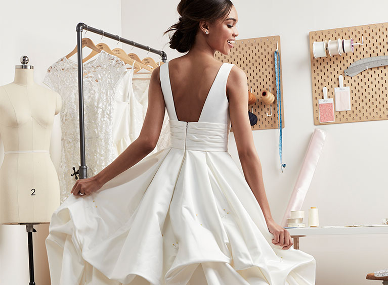 Wedding Dress And Formal Dress Alterations Davids Bridal