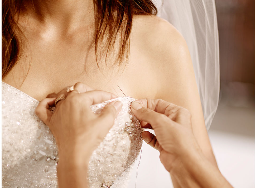 Bridal &amp- Wedding Alterations - David&-39-s Bridal