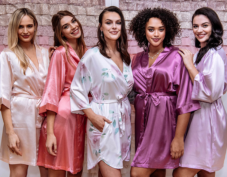 Bridesmaid Robes from David's Bridal