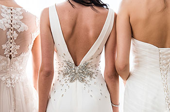 Bridal Gown Back Detail