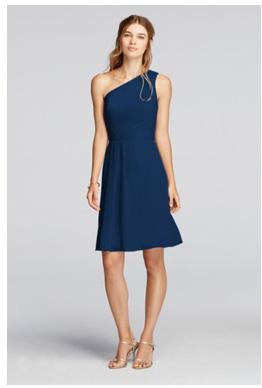 Navy Blue Bridesmaid Dresses | David's Bridal