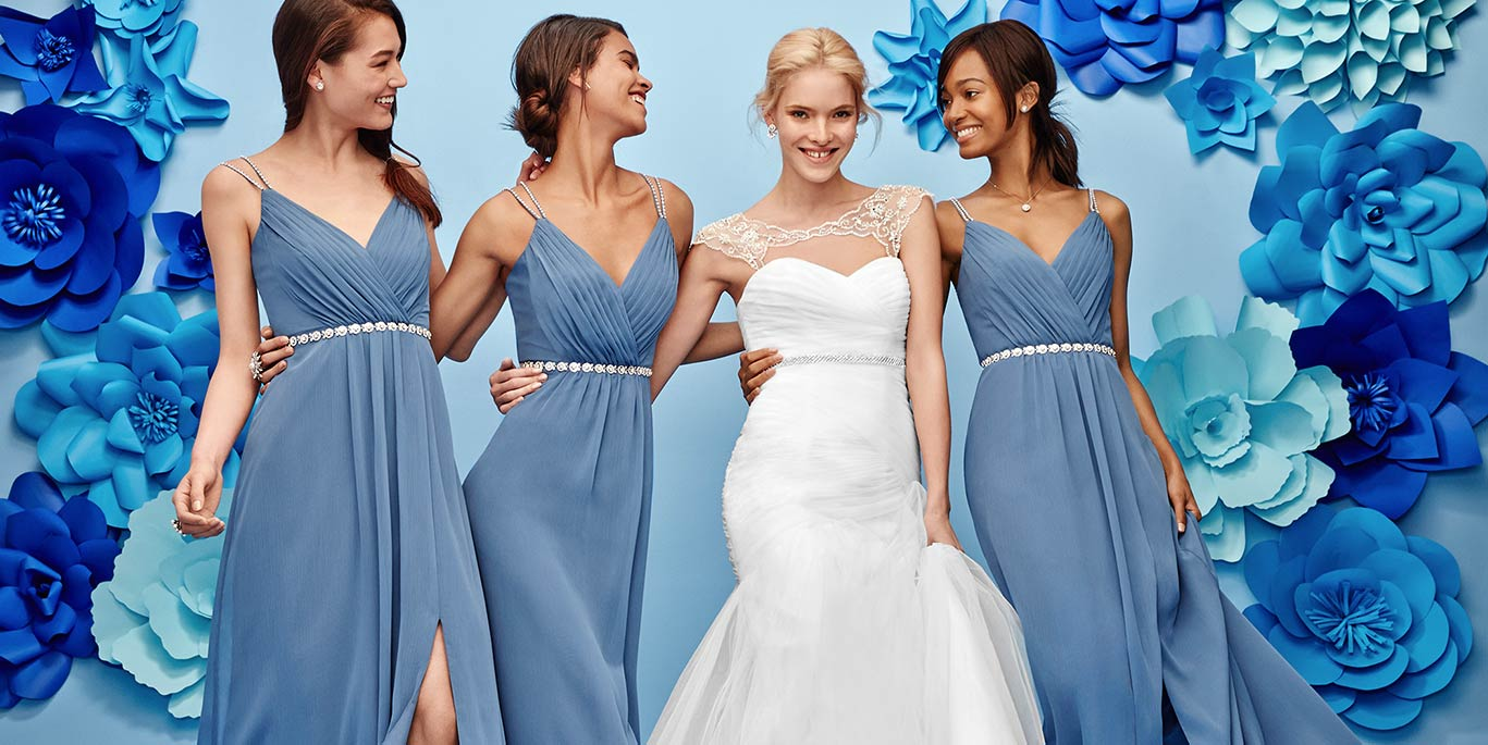 Bridesmaid dress colors bridal party colors combinations bridesmaid shoes different styles ombrellifo Gallery
