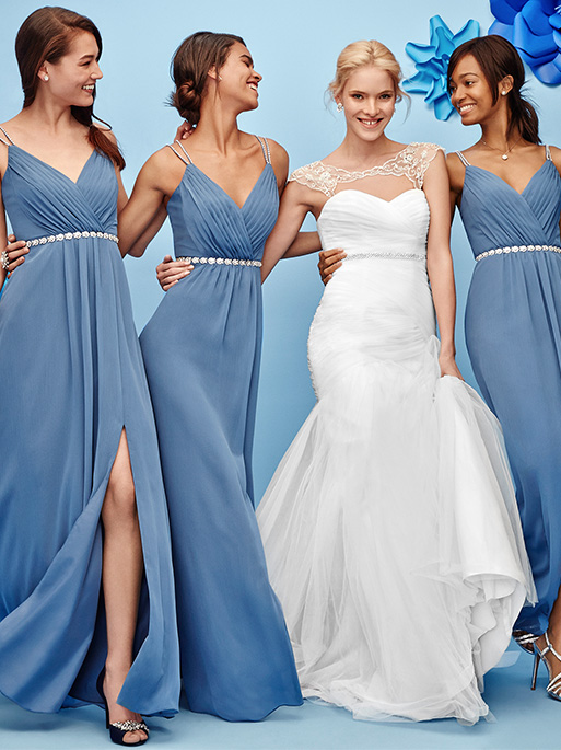 bridesmaid dress colors bridal party colors combinations