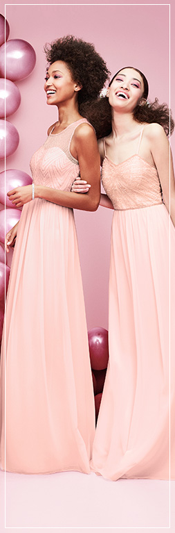 Pastels Bridesmaid Dresses Different Styles