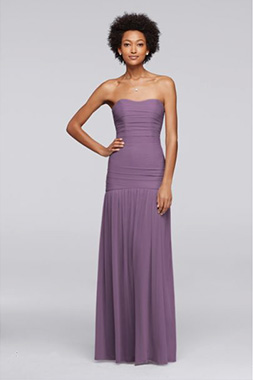Purple Bridesmaid Dresses Different Styles | David's Bridal