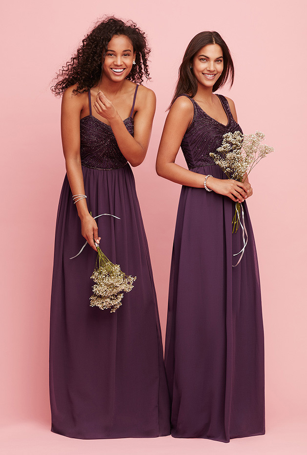 fall wedding bridesmaid dresses fall autumn wedding colors ideas amp inspiration david s 4021