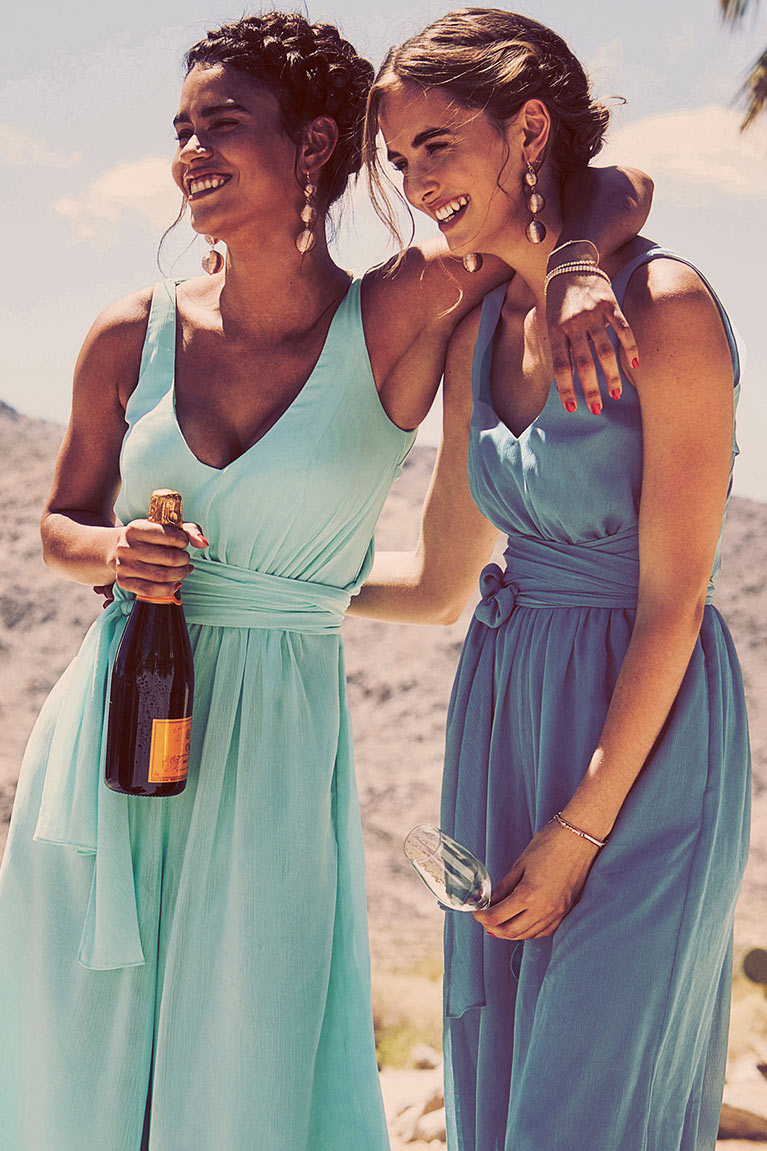 Bridesmaids dress colors for spring