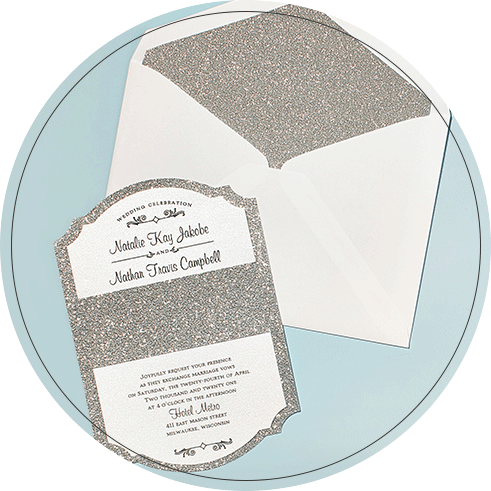 Winter Wedding Invitations | David's Bridal