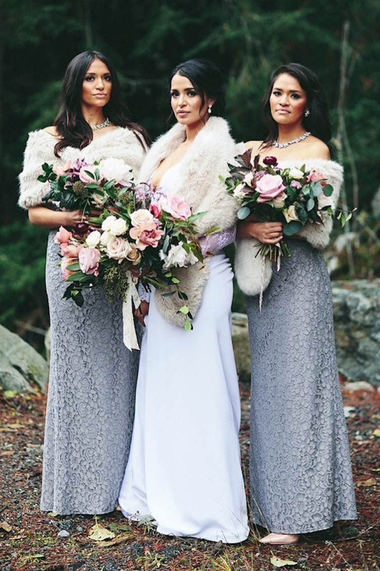 Winter Wedding Colors - Ideas & Inspiration