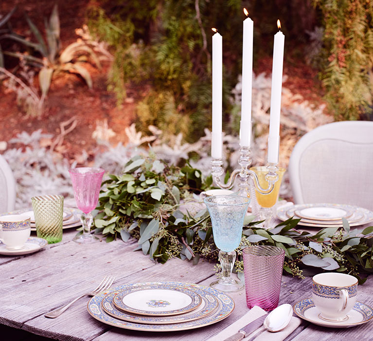Formal Wedding Tablescape