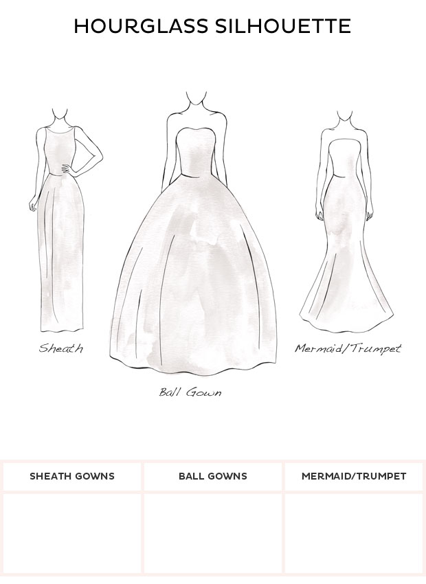 Wedding Dress Style - Hourglass style wedding dresses from David\'s ...