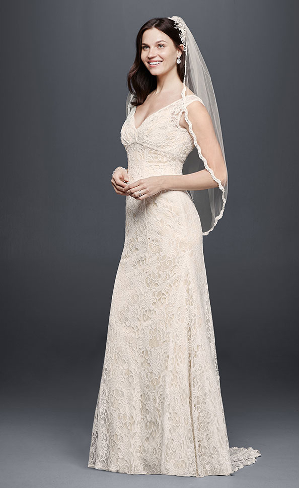 Wedding Dress Style T9612 by David's Bridal