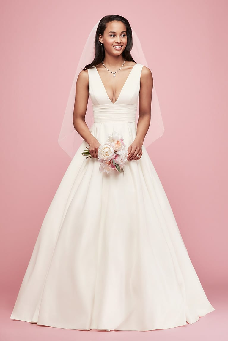 Timeless Wedding Dress Looks on a Budget | David\'s Bridal