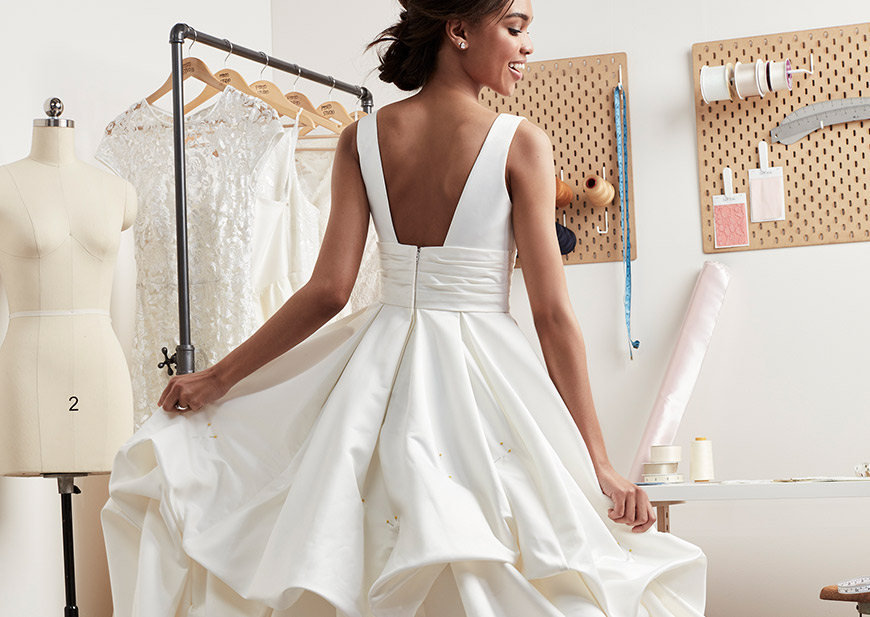 Wedding Dress Bustle Guide