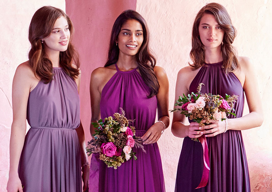 Pretty Bridal Party Color Ideas: Palettes, Schemes by Season ...