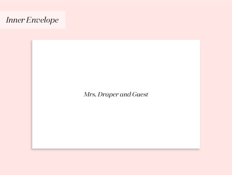 Mrs. Draper and Guest