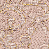 Gold Metallic Lace Bridesmaid Color Swatch