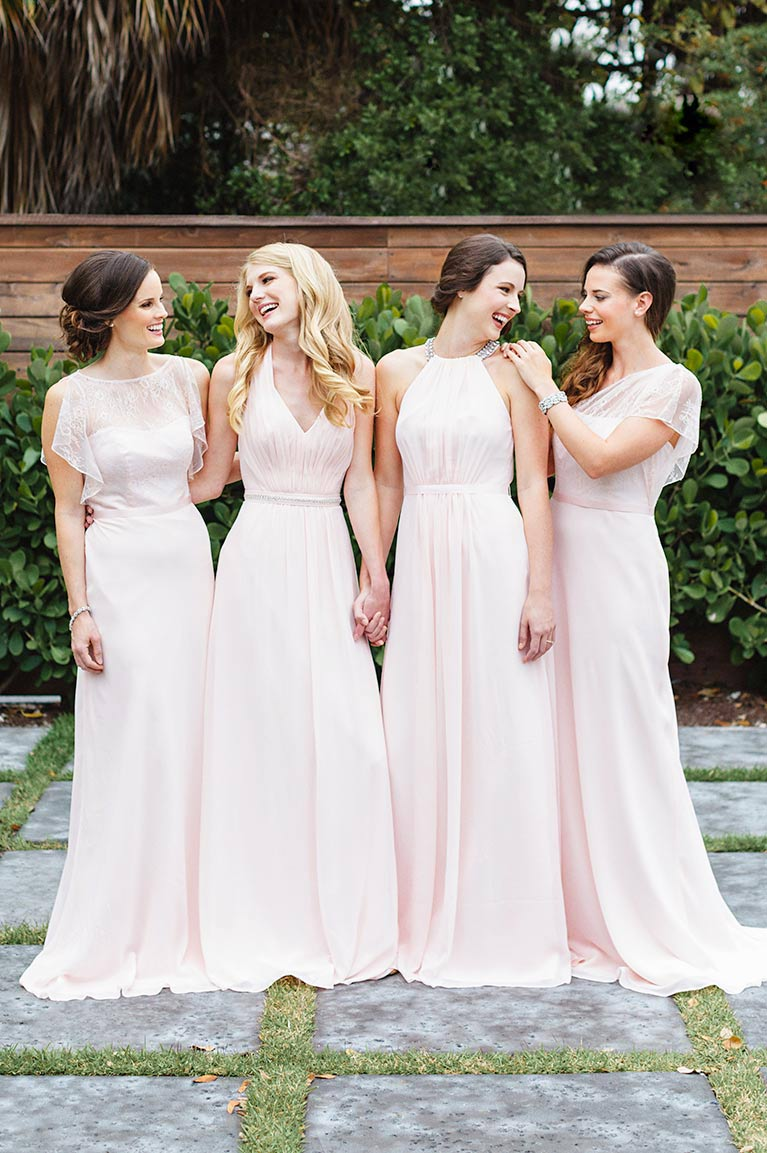 Mismatched Bridesmaid Dress Styles, Colors | David\'s Bridal