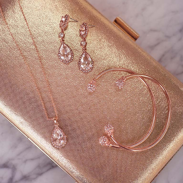Rose Gold Jewelry | David's Bridal