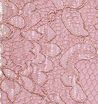 Rose gold metallic fabric swatch
