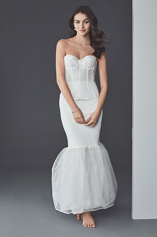 61dcc15093b6 Shapewear Guide: What to Wear Under Your Wedding Dress | David's Bridal