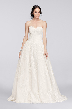 Ball Gown Wedding Dress: Before