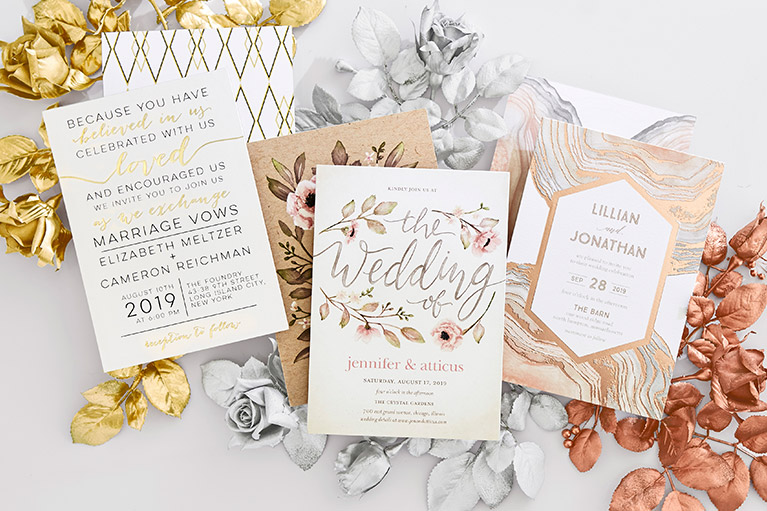 Wedding Invitations Davids Bridal