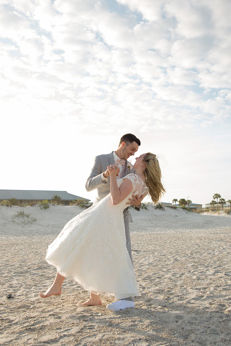 Beach Wedding Ideas and Themes | David\'s Bridal