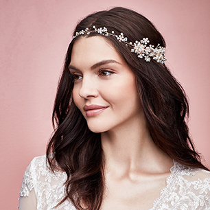 Hair Accessories for a Casual Wedding | David's Bridal